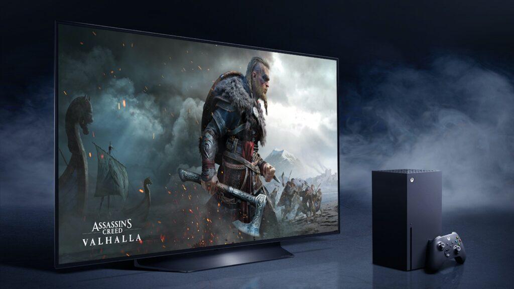 LG-OLED-und-XBOX-Spielkonsole